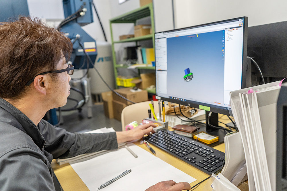 CAD/CAM データとの融合|広川製作所