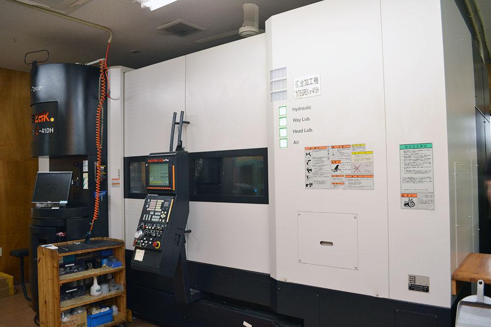 プラスチック切削加工設備 広川製作所
